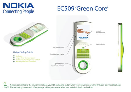 Nokia EC509 Green Core