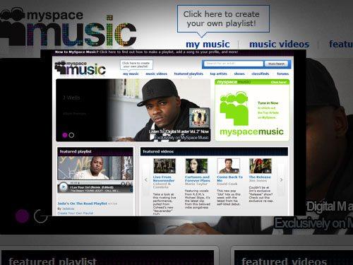 MySpace jetzt mit noch mehr Platz für Musik und Videos